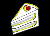dessin dessert carte rouge basilic