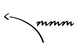 fleche menu rouge basilic
