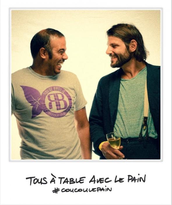 Selfie avec le Chef Pierre Jancou à Tous à Table avec le Pain